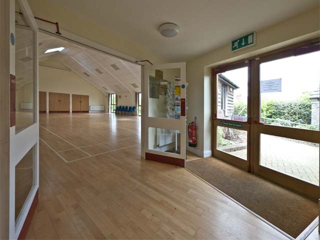 3 - Studland Village Hall - Entrance Lobby