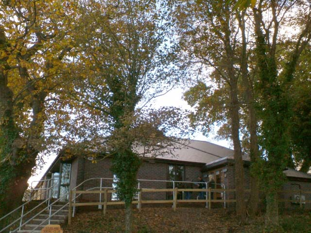 Studland Village Hall - Social Club Entrance