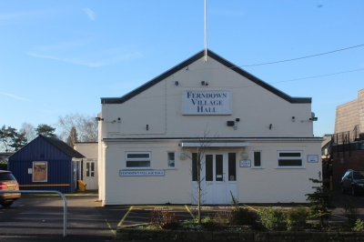 Ferndown Village Hall - Front