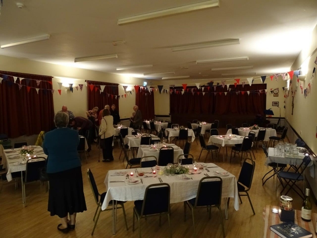 Loders Village Hall - Harvest Supper 1