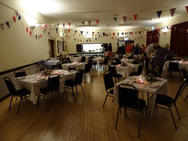 Loders Village Hall - Serving area