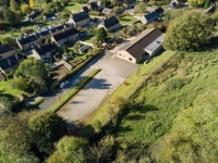Loders Village Hall - Aerial View